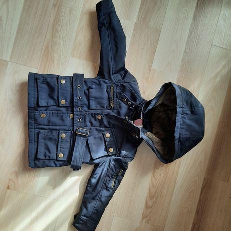 Куртка теплая Испания  рост 86-92 см  состояние новой