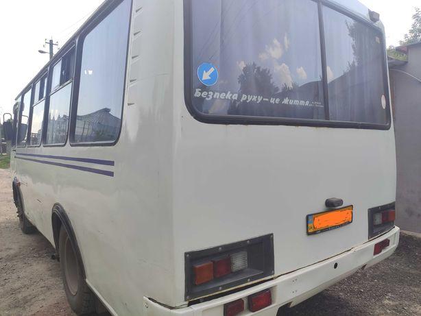 Автобус ПАЗ 3205 двигатель од Mercedes