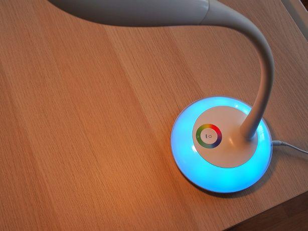 Oszczędna 6W Lampka Polux Cosmos2 biurko czytania nocna USB LED lampa