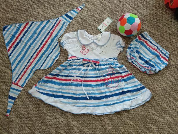 Детский комплект, детское платье