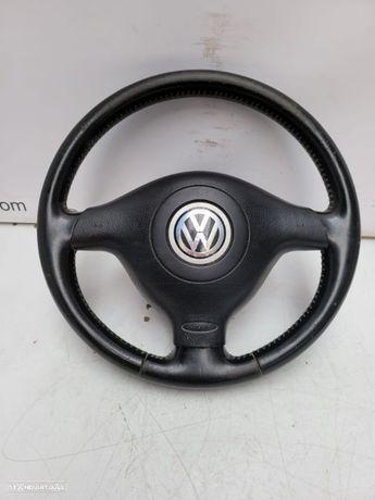 VW VOLKSWAGEN GOLF IV / 4 / BORA / PASSAT | VOLANTE ORIGINAL COM COMANDOS E AIRBAG;