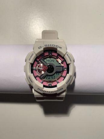 Zegarek G-Shock GA110 Biały z różową tarczą NOWY