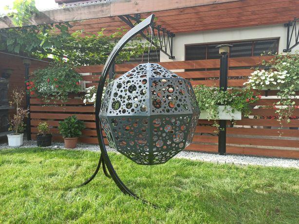 Lampa ogrodowa, kula, artdecor, rękodzieło, niepowtarzalny design