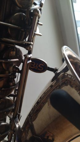 Sprzedam saksofon altowy B&S