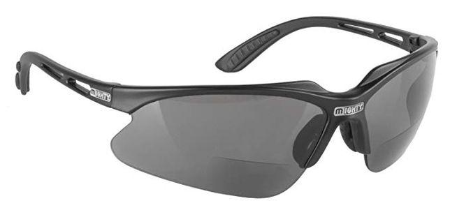 Okulary przeciwsloneczne z malym szklem korekcyjnym +1