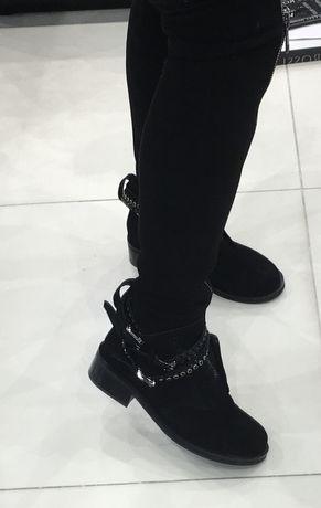 Замшевые ботфорты Vitta Rossi