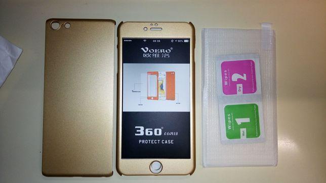 Capa + proteção ecrã iPhone 6S Plus (nova)