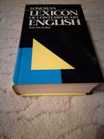 Longman Lexicon of Contemporary English.