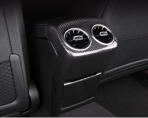 Consola Carbono - Ventilação Traseira Mercedes A /CLA W177-C118