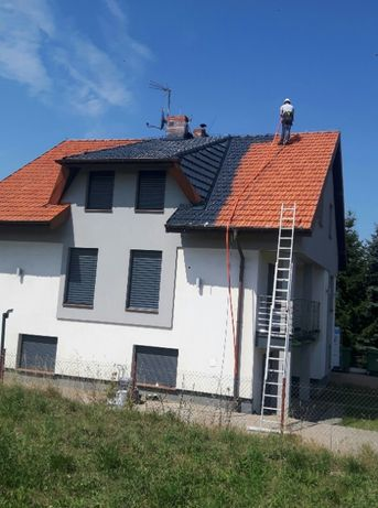 Malowanie Natryskowe Dachów, Elewacji, Wnętrz [Fid-Mal]