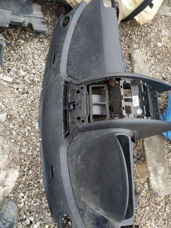 Peugeot 407 deska rozdzielcza