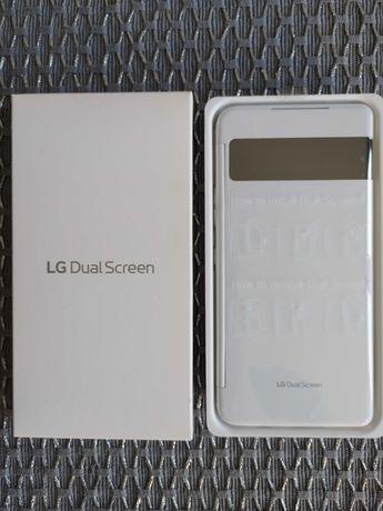 Dual Screen do LG Velvet - komplet - biały