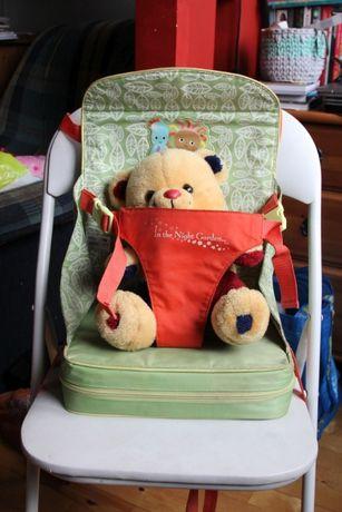 turystyczna nakładka na krzesło dla dziecka