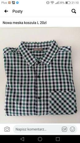 Nowa koszula meska