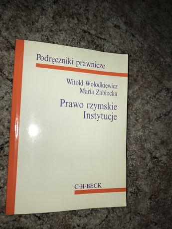 Prawo rzymskie- instytucje Witold Wołodkiewicz