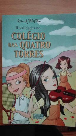 "livro ""Colégio das quatro torres"""