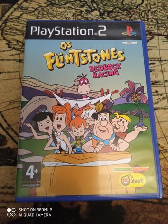Os Flintstones - bedrock racing PlayStation 2
