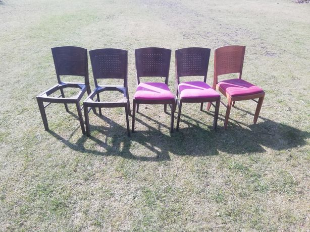 Krzesła PRL loft wintage vintage cena za komplet