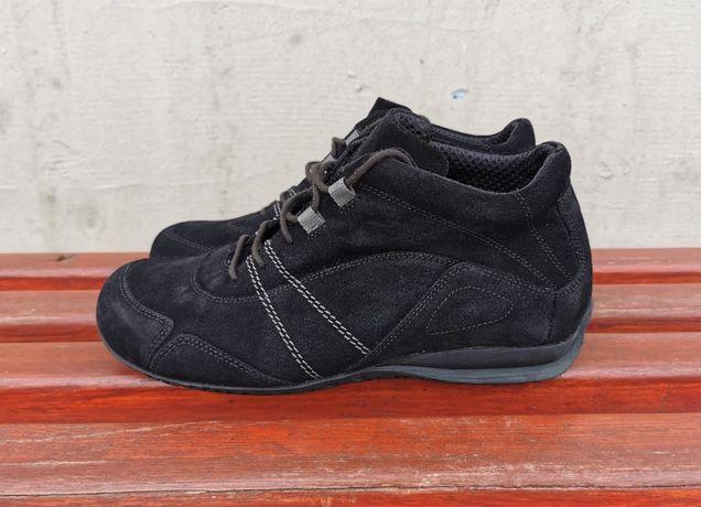 Кожаные демисезонные ботинки Helvesko 39 р. на широкую стопу