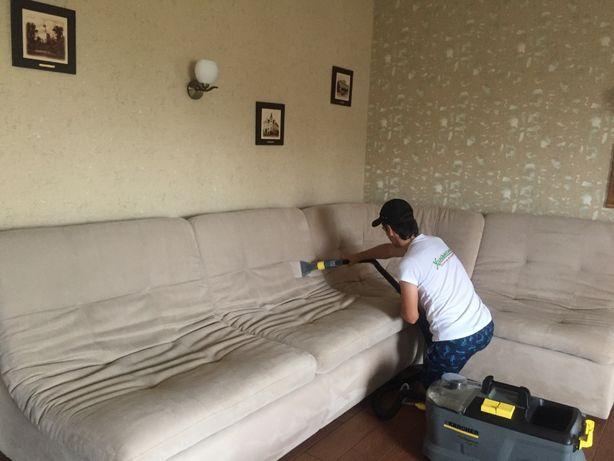 Химчистка мягкой мебели Днепр . Удаление пятен, мочи детей и животных