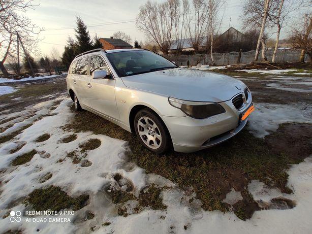 BMW E61 525d 2.5d 2005r AUTOMAT USZKODZONA mozliwa zamiana