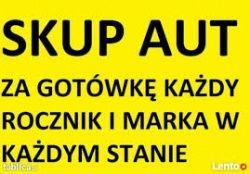 Skup Aut Wszystkich Marek Solidna firma OD 300 do 10.000zł