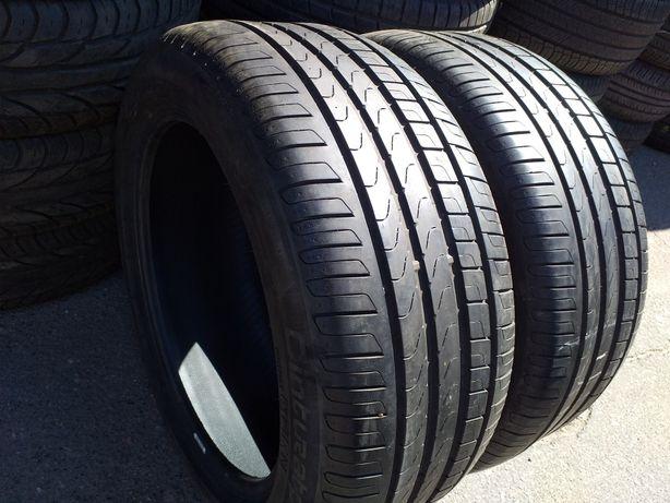Пара 255/45 18 Pirelli CinturatoP7 RunFlat.15г.5+мм.