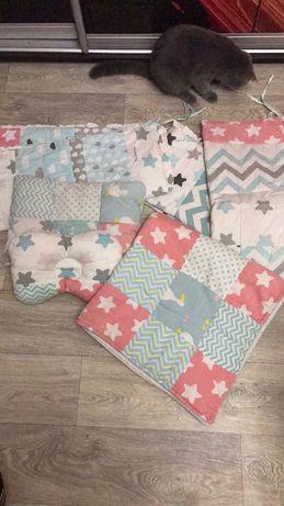 Защита, одеяло-конверт, подушки