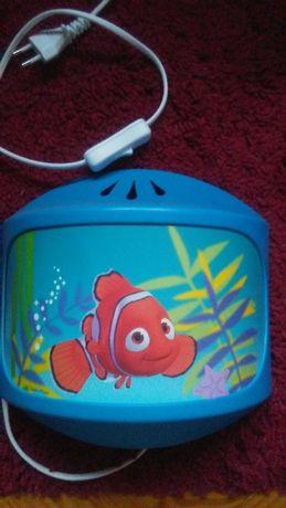Dziecięca lampka nocna Nemo - kinkiet