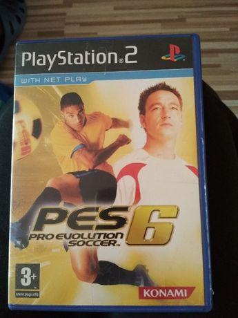 Gra na playstation 2 pro Evolution 6