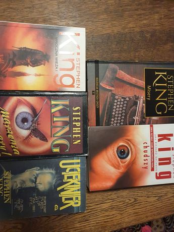 Stephen King zestaw książek