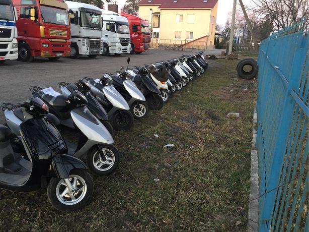 Скутер мопед Honda Yamaha Suzuki без пробега по україні тільки з конте