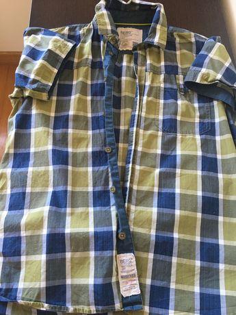 Camisa de manga curta rapaz