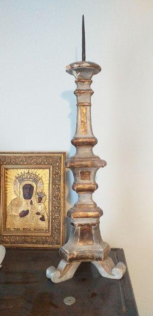 Para barokowych świeczników XVIII wiek