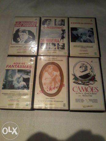 """Lote 2 Filmes Portugueses Colecção """"Tobis"""" - VHS"""