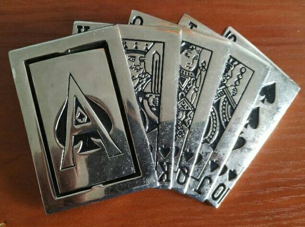 пряжка бляха бляшка покер ремень