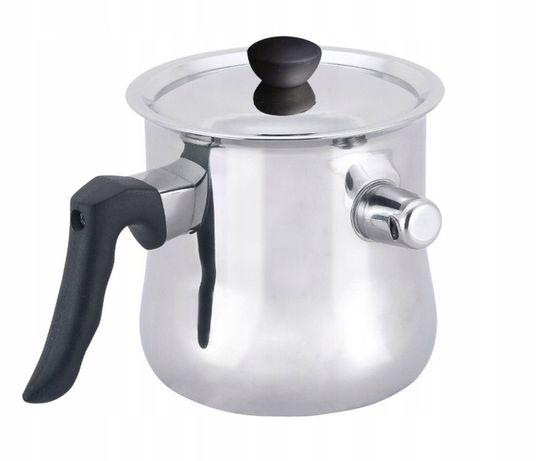 GARNEK do Gotowania MLEKA 1.0 L GAZ INDUKCJA tani dla dzieci