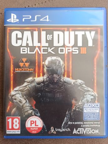 Gra PlayStation 4 PS4 Call Of Duty: Black Ops III 3