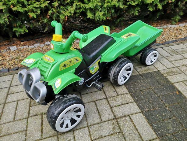Rower Traktor z przyczepą