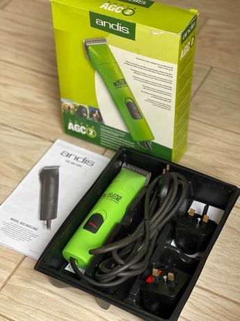 Продаю машинку ANDIS AGC 2 для стрижки или груминга.
