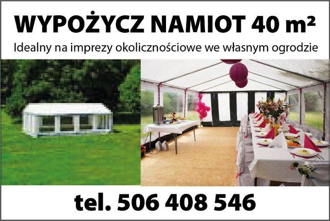 Namiot imprezowy, wynajem URODZINY, 40 -stki, 50-tki