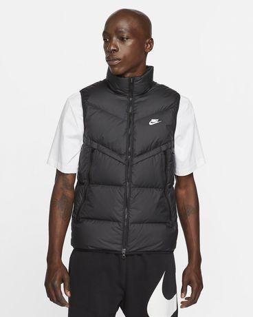 Оригинал жилет Nike на пуху куртка пуховик жилетка найк jordan