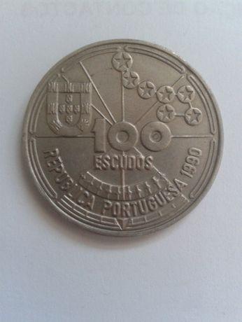 Moedas Portuguesas 100 e 200 Escudos