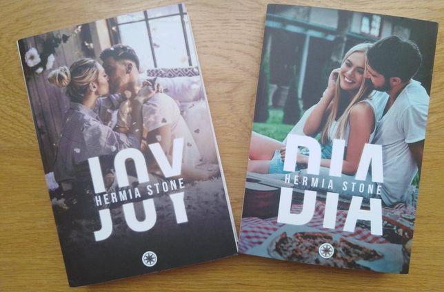 """Pakiet """"Joy"""" + """"Dia"""", Hermia Stone, miękkie okładki"""
