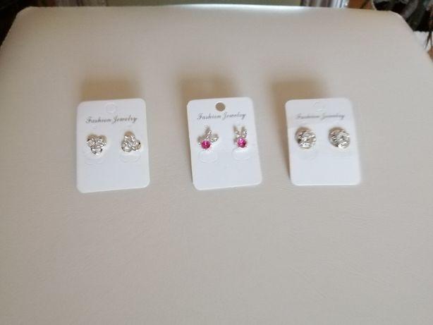 Kolczyki biżuteria