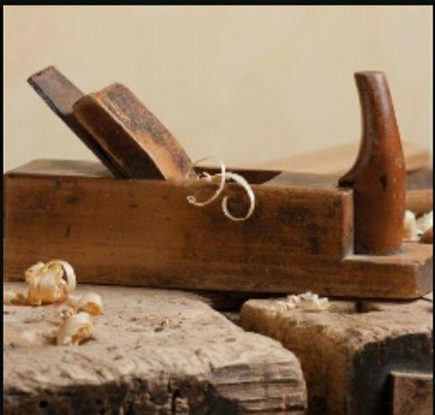 Pamiatki PRL stróg drewniany kapletny