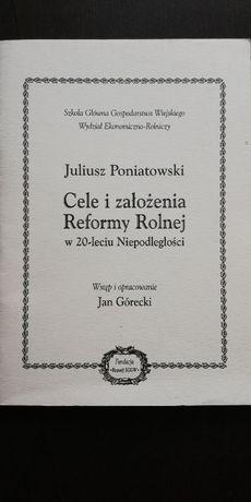 Cele i założenia Reformy Rolnej w 20-leciu Niepodległości - J. Poniato