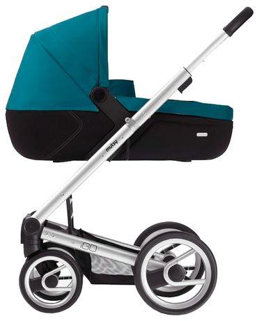 Детская коляска mutsy IGO Lite бирюзовая 2 в 1