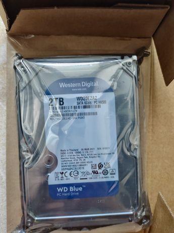 """Новий Жорсткий диск 3.5 """"2Tb WD WD20EZRZ Blue"""