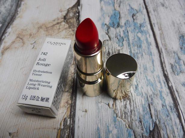 Clarins pomadka szminka Joli Rouge kolor 742 1,5g